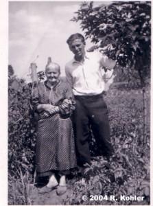 Nedel w Gisla's mom 1944