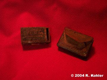 U-869 Matches & Cigarettes