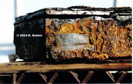 UW Artifact U 869 Box with tag 1