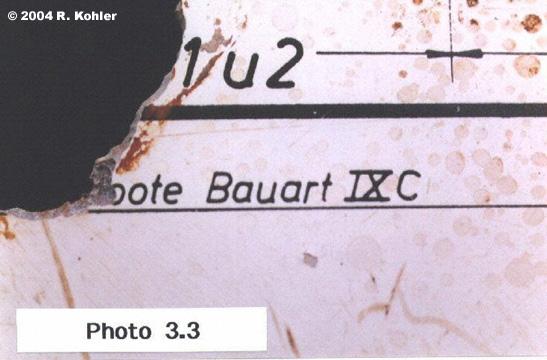 UW Artifact  U 869 Schematic closeup B